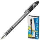Ручка шариковая черная автоматическая Paper Mate Flex Grip Ultra 0.4 мм Корпус черный прорезиненный